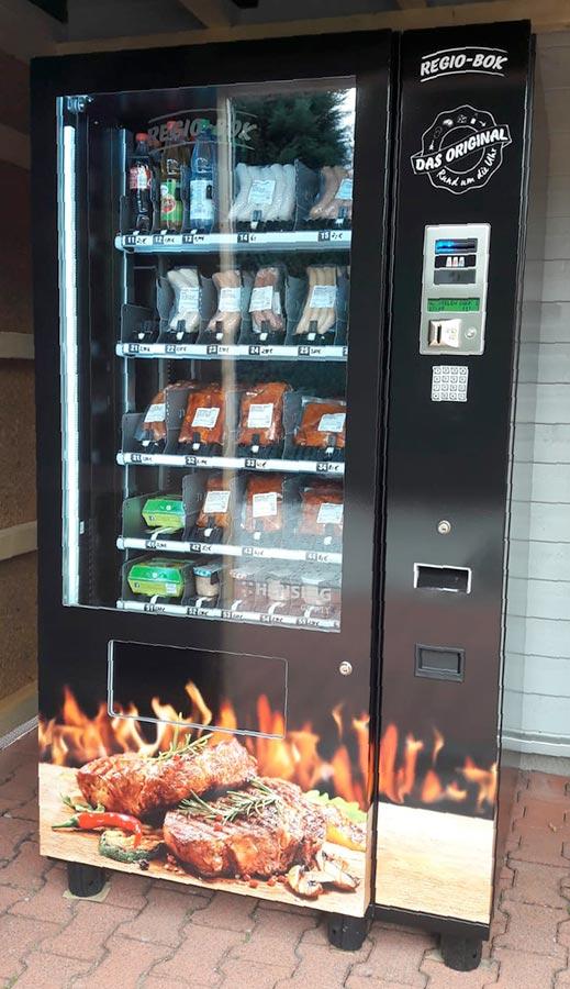 Automat Wurst Eier Hellstein